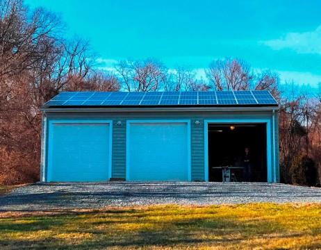 Garage Solar Array