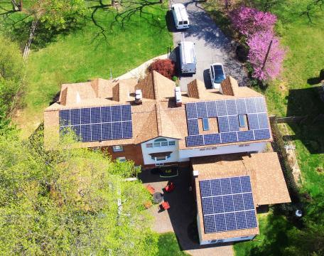 High-Efficiency 14kW Solar System