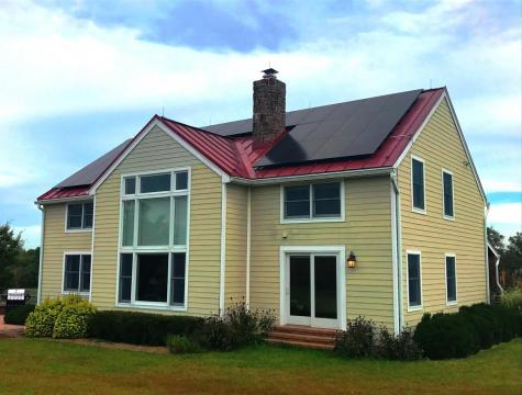 Standing Seam Metal Roof Installation in Rural Montgomery County