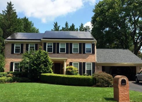 All Black, High Efficiency System in Gaithersburg, Maryland